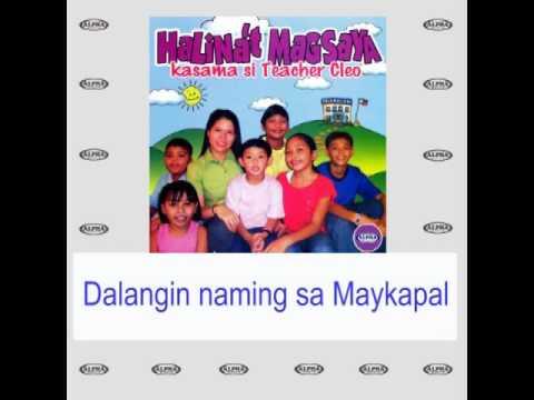 Teacher Cleo & Kids Salamat Po Panginoon with lyrics