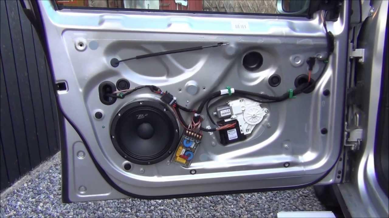 2000 vw jettum door speaker [ 1280 x 720 Pixel ]