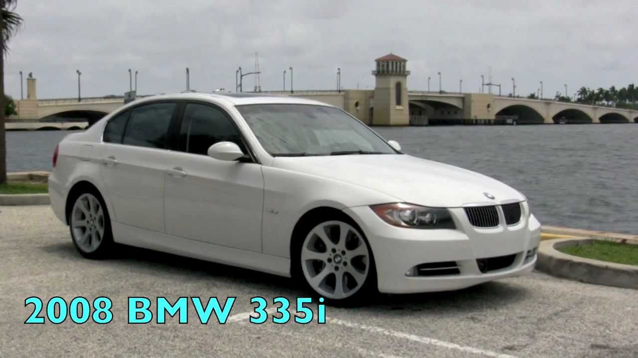 2008 bmw 335i white youtube. Black Bedroom Furniture Sets. Home Design Ideas