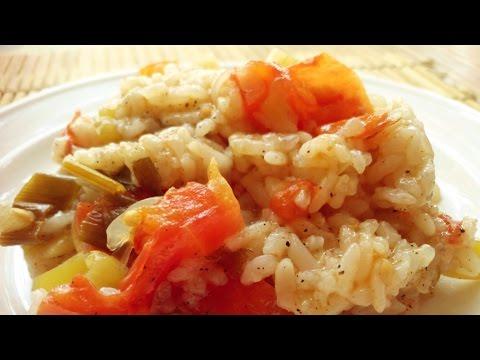 Рис с болгарским перцем в мультиварке
