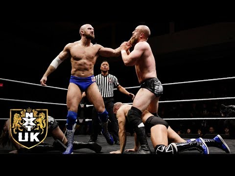 The Grizzled Young Veterans battle Lorcan & Burch in a NXT UK Tag Title Match: NXT UK, Feb. 27, 2019