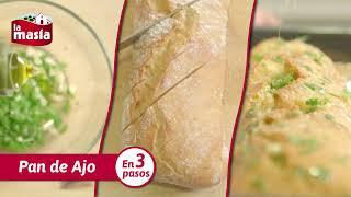 Cómo hacer Pan de Ajo en tres pasos