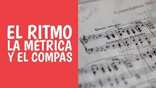 Curso de teoría musical: 5. Métrica musical 3/4, 4/4, 6/8 y más