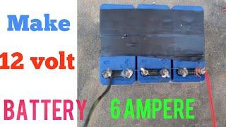 Make 12 volt battery,diy battery,battery kaise banaye,battery repair,battery all problem solved,12 v