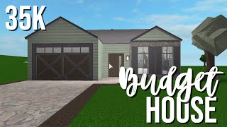 ROBLOX || Bloxburg: Cheap No Gamepass Home 35k ♡