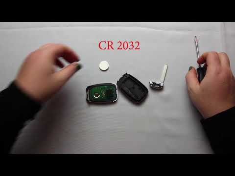 How To Replace A 2018 – 2020 Chevrolet Equinox Key Fob Battery FCCID HYQ4AA