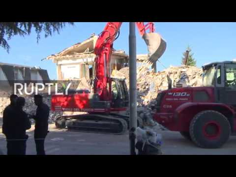 LIVE from Amatrice following devastating 6.2-magnitude earthquake (Part I)