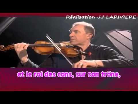 RENAUD   HEXAGONE I G JJ Karaoké - Paroles