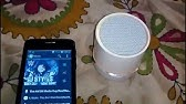 Borne Bluetooth Portable Speaker - YouTube