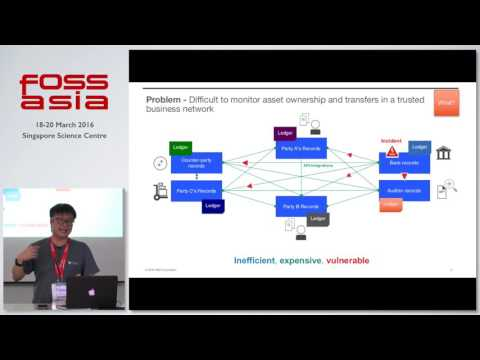 Hyperledger - The Open Source Blockchain - Justin Lee - FOSSASIA Summit 2016