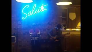 Acoustic Guitar Jakustik at Sopra Cafe, Street Gallery PIM (managed by SapuraiyA Entertainment)