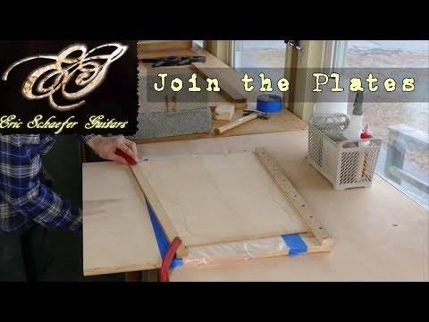 Joining the Plates - Eric Schaefer Guitars - Online Guitar Building School