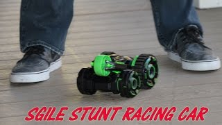 SGILE STUNT CAR RACING RC Rechargeable 5 Rounds 360 Spin Review 🚗