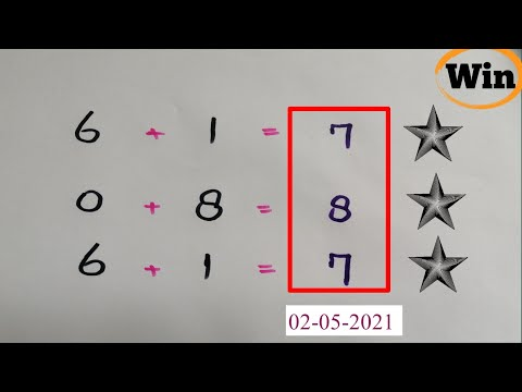Thai lottery 3up Total pass 01-05-2021   Thailand lottery total win congrats to all