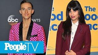 Adam Rippon's 'DWTS' Advice For Joe Amabile, Jameela Jamil On 'The Good Place' Season 3 | PeopleTV