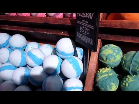 Lush Oxford Street Tour and vlog
