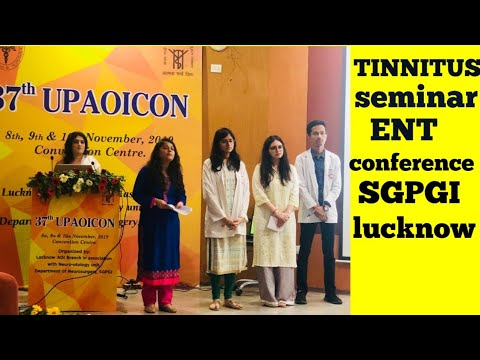tinnitus--causes,pathogenesis-and-treatment;-seminar-!-37th-upaoicon,ent-conference,sgpgi-lucknow..