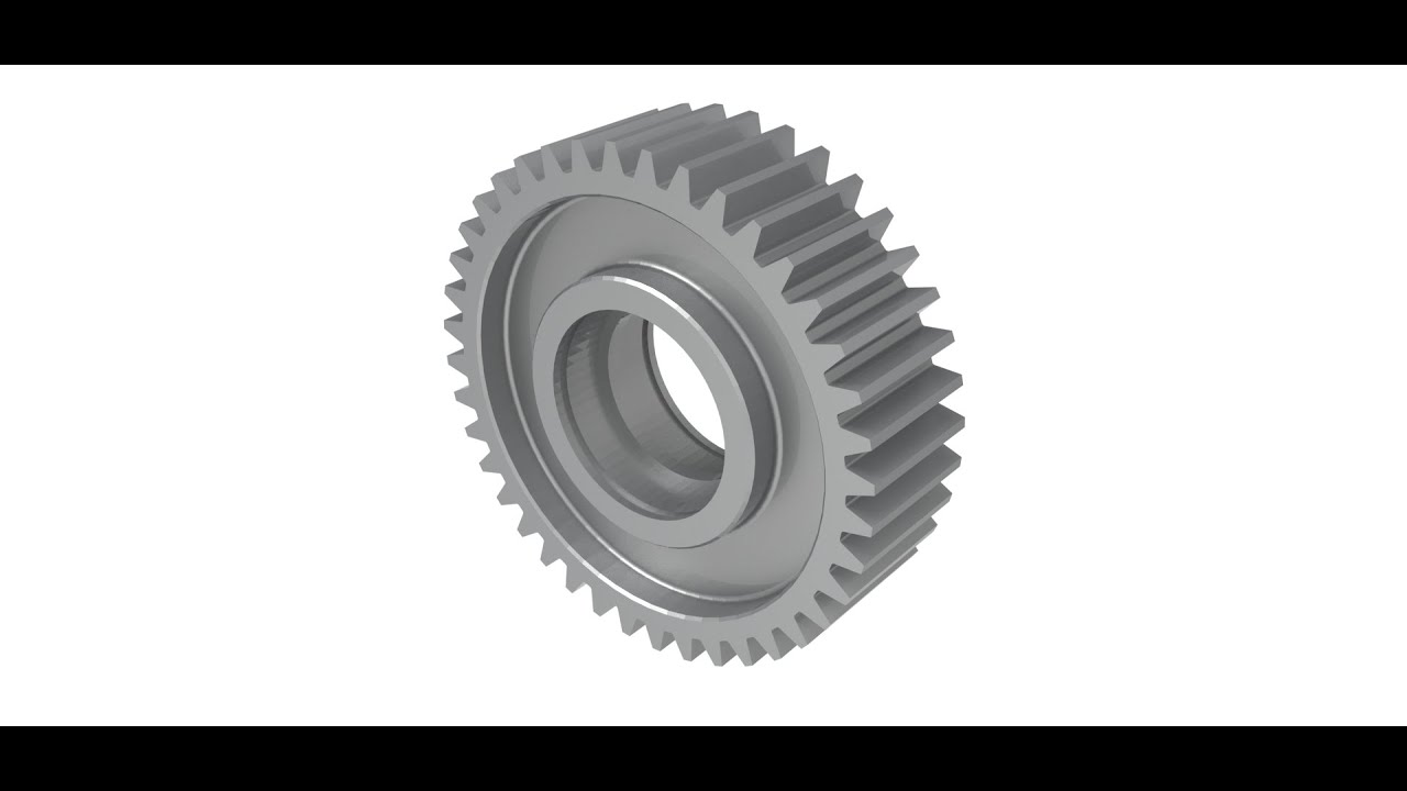 How to design gear in Onshape
