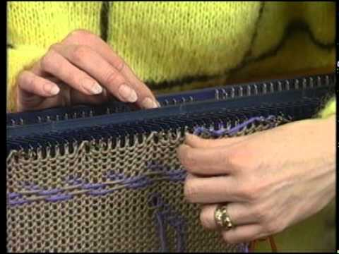 Color on the BOND-3: Weaving in Floats, More Fair Isle - YouTube