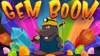 GEM BOOM | LEVEL 1-25 | PUZZLE GAME | WALKTHROUGH