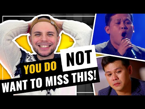 WOW! Marcelito Pomoy - The Prayer | DUAL VOICES | America's Got Talent: Champions | HONEST REACTION