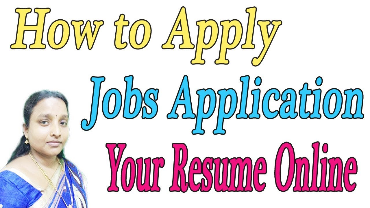 how to apply new jobs application
