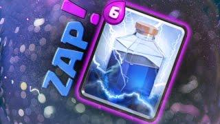 Clash Royale - CLUTCH LIGHTNING! WINS!! (Unlocking New Spell)