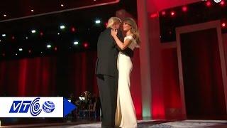 Vợ chồng Trump tình tứ trong dạ tiệc khiêu vũ | VTC