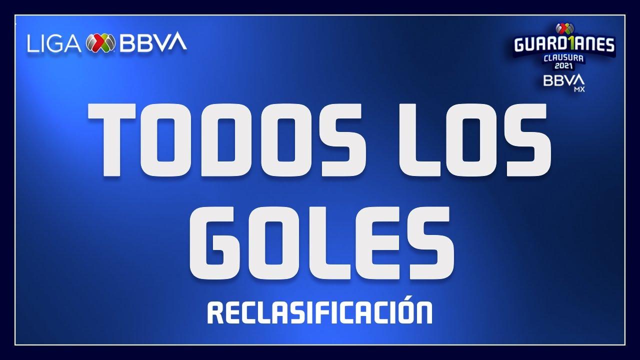 Todos los Goles - Reclasificación   Liga BBVA MX - Guard1anes 2021
