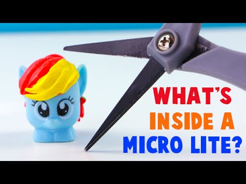Thumbnail: What's Inside a My Little Pony Micro Lite Toy? I Cut Open a Micro Lite!