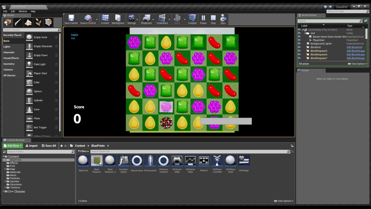 Ue4 blueprint match 3 youtube ue4 blueprint match 3 malvernweather Image collections