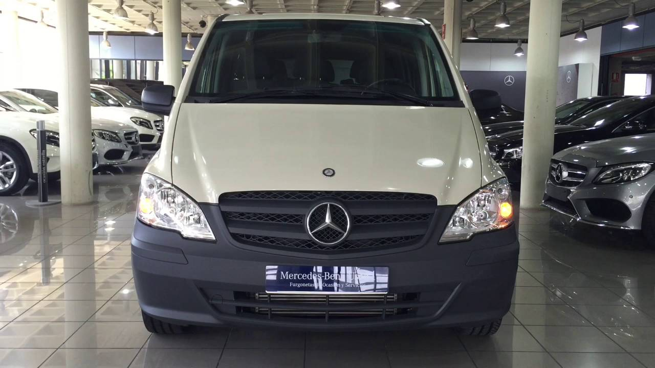 mercedes benz vegar vito 113 cdi gris guijarro used1 youtube. Black Bedroom Furniture Sets. Home Design Ideas