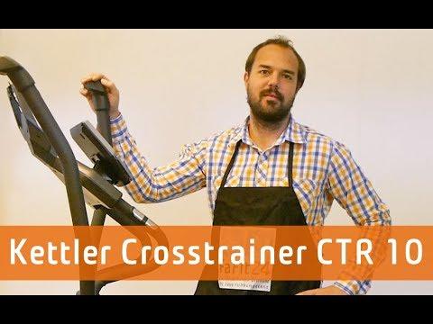 kettler crosstrainer ctr 10 sondermodell youtube. Black Bedroom Furniture Sets. Home Design Ideas