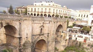 Ronda - Die Stadt mit der Brücke Puente Nuevo in Andalusien - Spanien