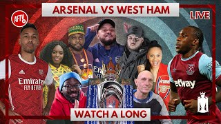Arsenal vs West Ham | Watch Along Live