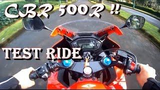#17 CBR 500R Test Ride!! Indonesia (Bukan Review)