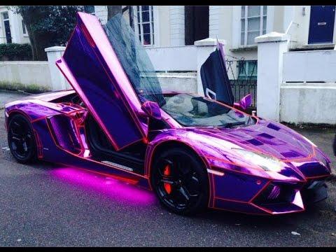 Ksi Lamborghini Aventador Purple Youtube