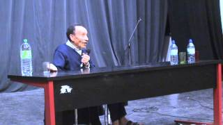 """""""Vers la Sobriété Heureuse"""" Conférence Pierre Rabhi du 20 novembre 2012 à Clermont-Ferrand"""