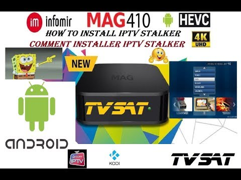 MAG 410 HOW TO INSTALL iPTV STALKER AND STB EMU PRO