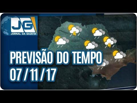Previsão do Tempo - 07/11/ 2017