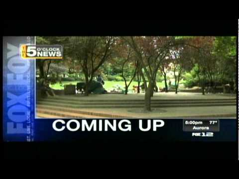 The 5 O'Clock News on Fox 12 Oregon (KPTV-TV) Open
