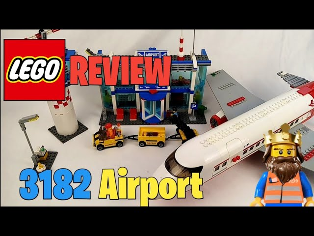 LEGO ® CITY REVIEW: Airport 3182