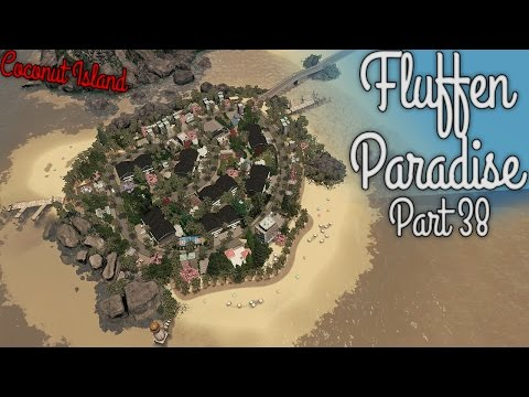 Cities Skylines - Fluffen Paradise [PART 38] - Coconut island