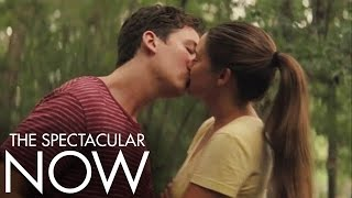 Repeat youtube video The Spectacular Now | First Kiss | Official Movie Clip HD | A24
