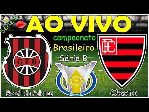 BRASIL DE PELOTAS X OESTE AO VIVO HD | BRASILEIRÃO SÉRIE B 2019 | 34ª RODADA | 09/11/2019