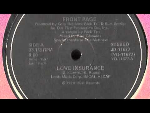 Front Page     Love Insurance 1979