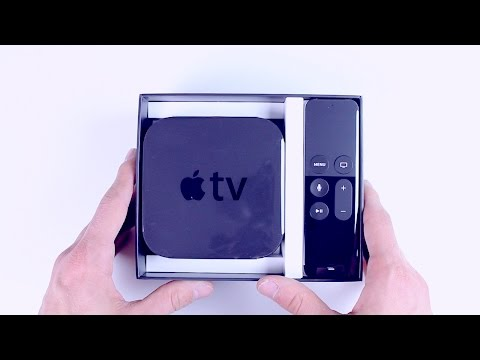 Apple TV 4 : Déballage et configuration !