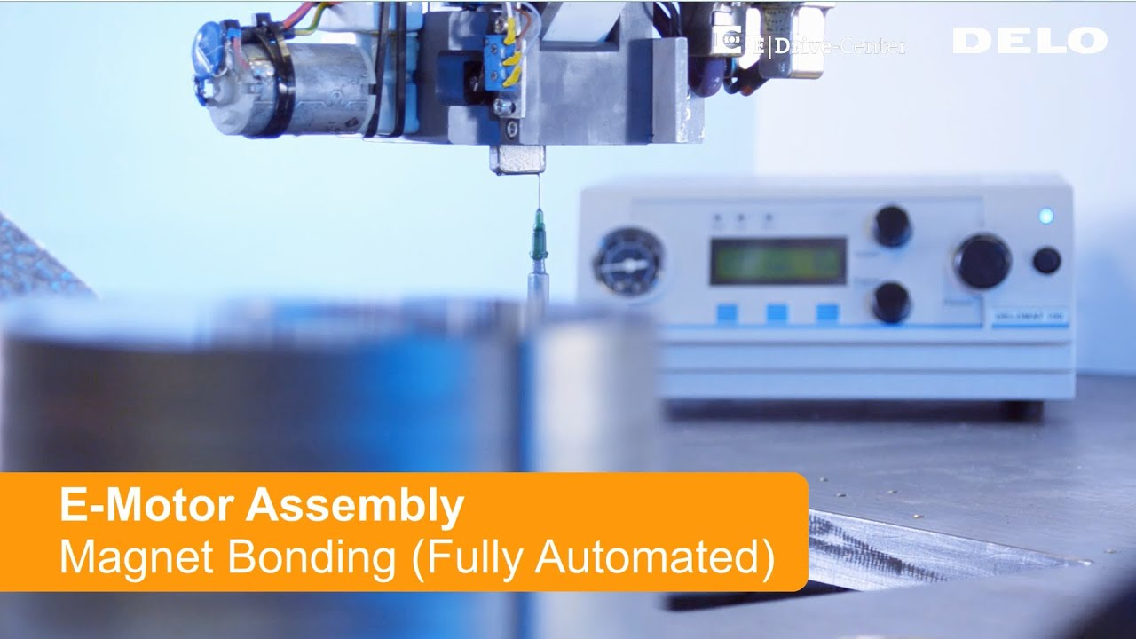 Electric Motor Assembly - Magnet Bonding (Fully Automated)
