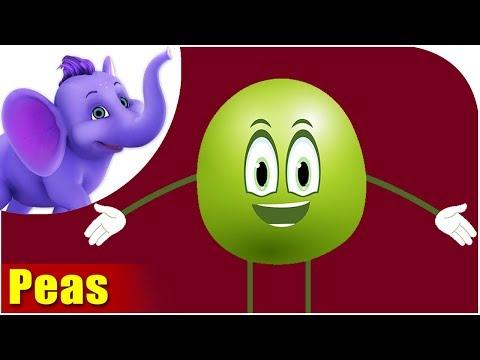 Matar (Peas) - Vegetable Rhymes in Hindi