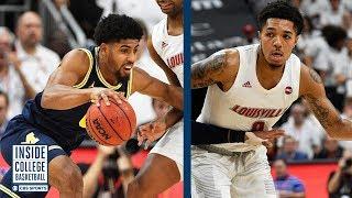 #4 Michigan at #1 Louisville Recap | Inside College Basketball
